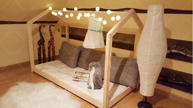 Lit cabane Bella 70 x 160cm