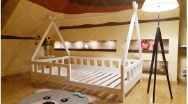House bed TIPI LILA Colour 90 x 190cm
