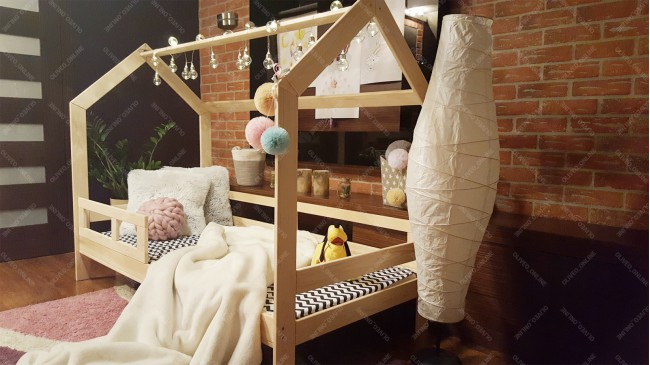 Children bed house, bed for children, kids bed,home bed Beech wood ...