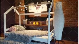 Lit cabane Milos Couleur 80 x 160cm