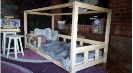 Lit cabane Box Kalia 70 x 140cm